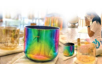 Relax Your Body and Mind with Crystal Singing Bowl Healing Therapy