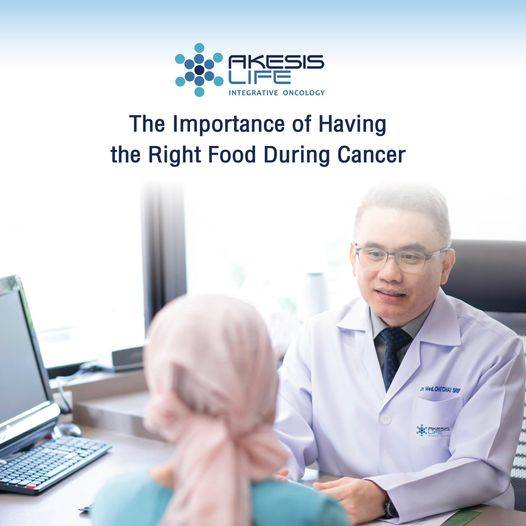 The Importance of Having the Right Food During Cancer